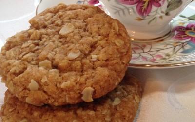 Wheat free Anzac Cookies