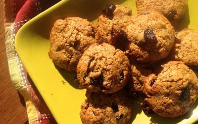 Spelt Cranberry Cookies