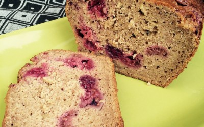 Apple Raspberry Loaf