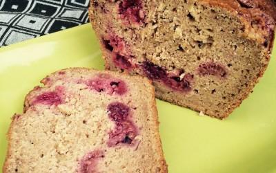 Apple Raspberry Loaf